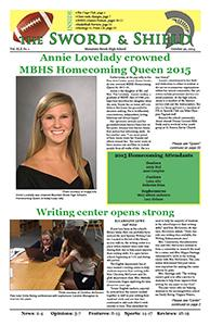 2015-16 Volume 1: October / Homecoming