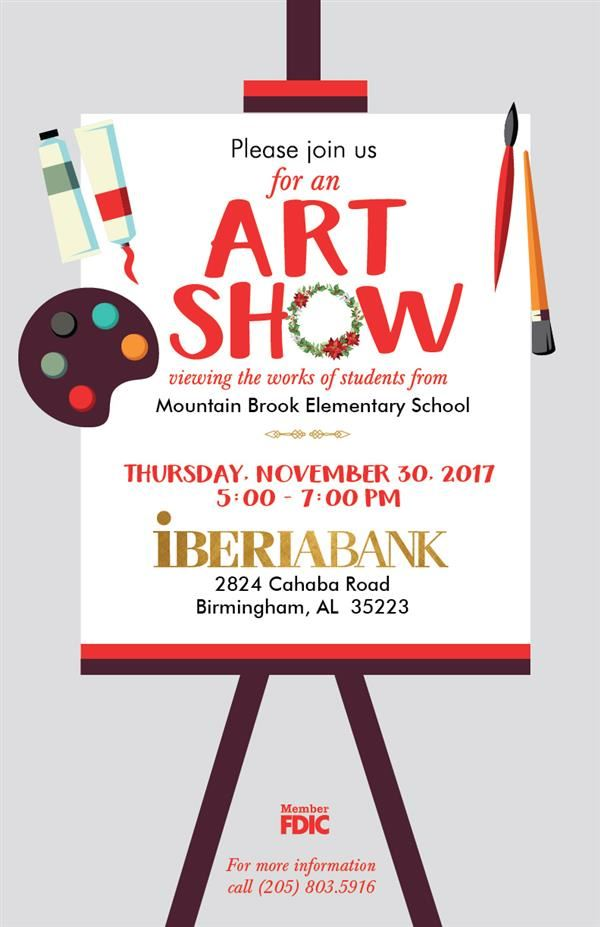 Iberia Bank & MBE Art Show