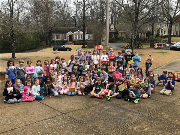 Second Grade Service Project
