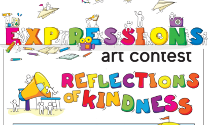Expressions Art Contest:  Reflections of Kindness