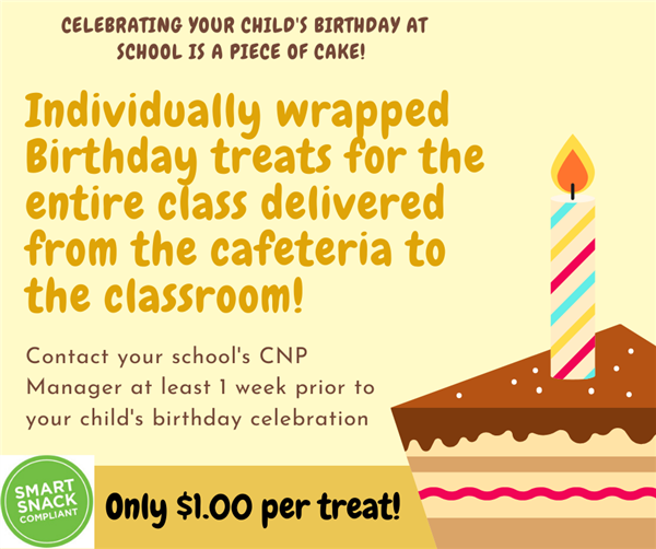 CNP offering birthday treat deliveries
