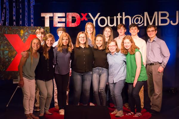 Speakers at TEDxYouth@MBJH 2018