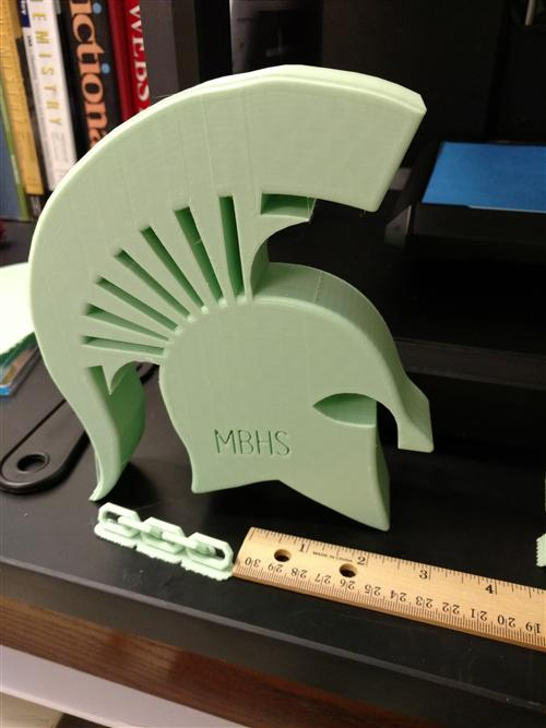 The Spartans Can 3D Print
