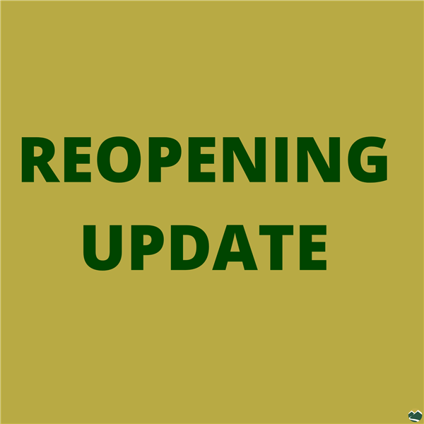 Reopening Update Graphic