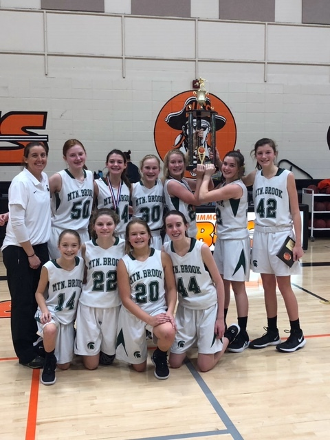 7th Grade Girls Basketball Team Wins Metro Championship