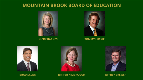 Mountain Brook Board of Education Graphic