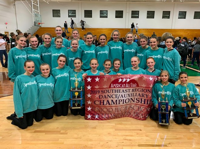 Spartanettes Win 1st Place in Dance Competition
