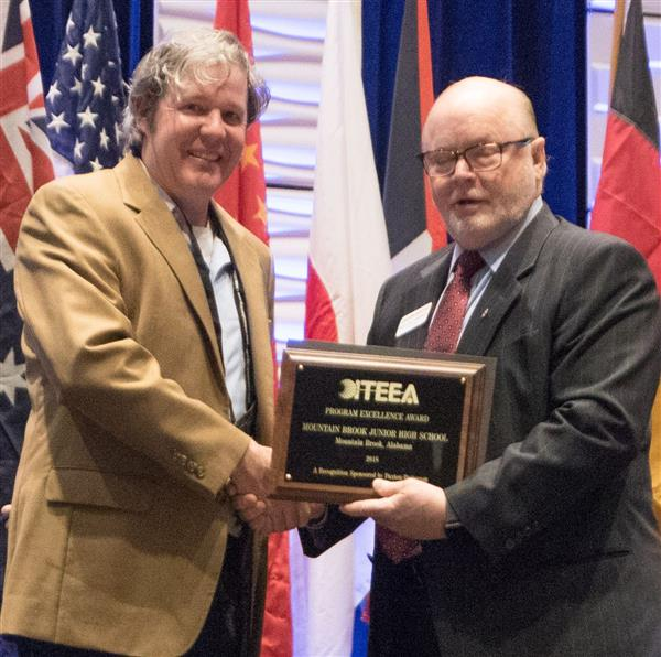 MBJH's James Salvant receives tech & engineering education award