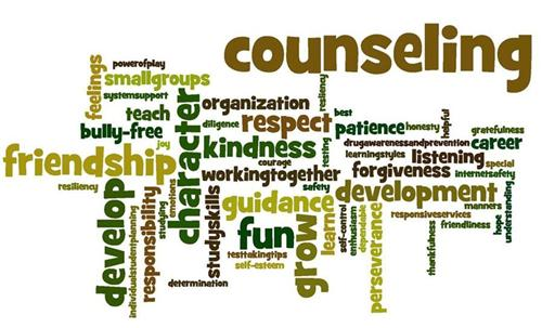 Image result for school counselor wordle