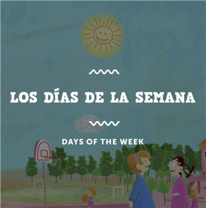 Rockalingua: the days of the week GAVE