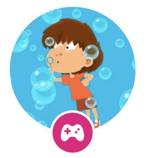 Rockalingua: Burbujas Game