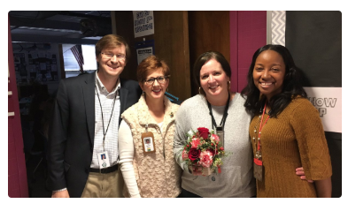 Tracy Cole honored with Mountain Brook Schools Teacher of the Year Award