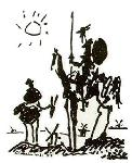 Picasso's Don Quijote