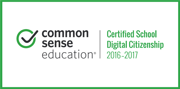 Common Sense Certified School Badge