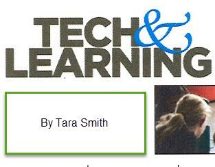 Aug. Tech & Learning Article